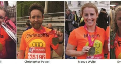 999 Club supporters run 26 miles in aid of the homeless