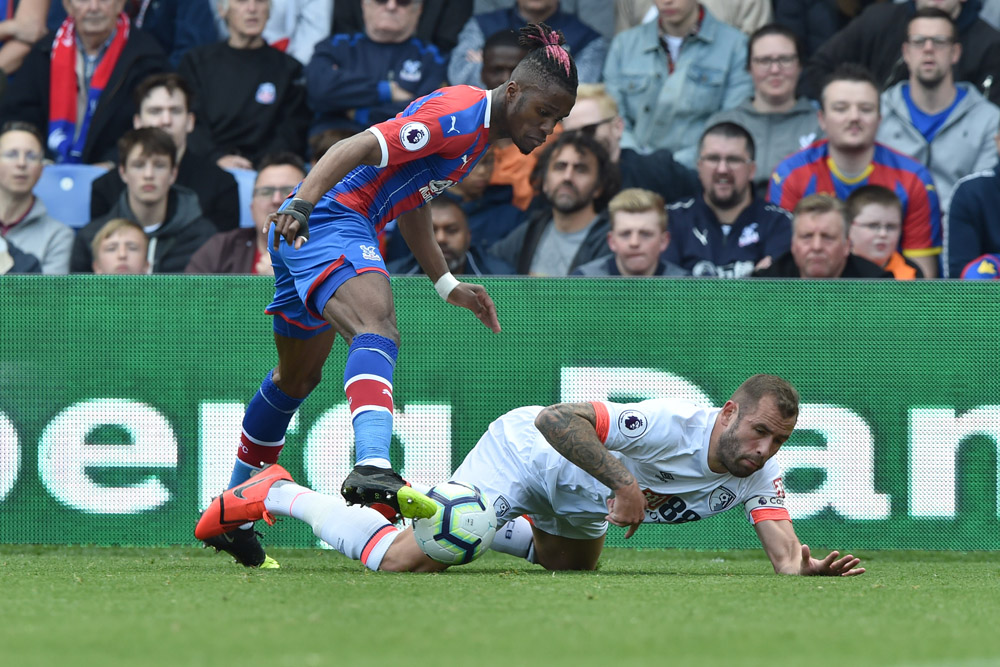 Wilfried Zaha underlines his value to Crystal Palace with a hat-trick of assists as Eagles turn on the style at Selhurst Park