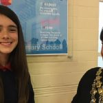 Wandsworth pupil 11, awarded £1,000 for art competition to imagine the future of London high streets.