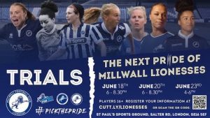 Millwall Lionesses to hold trials as they look to build new squad