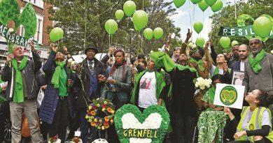 Both love and anger mark two years since disaster at Grenfell