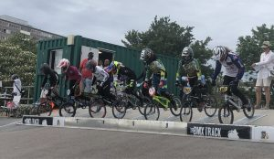 South Region BMX race at Peckham's Burgess Park track