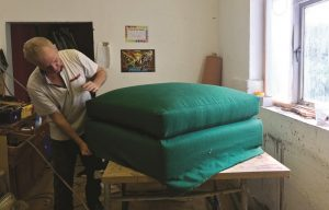 The Chairman & Son: Upholding the future of upholstery
