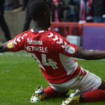 Outgoing Charlton striker Igor Vetokele is re-united…and it feels so good
