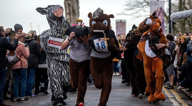 Horse around at The London Pantomime Horse Race and raise vital cash for Rosie
