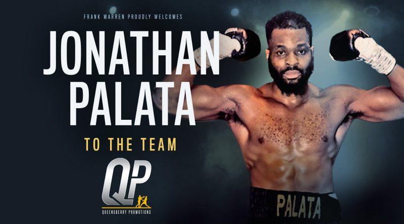 Sydenham heavyweight Palata signs with Frank Warren