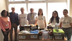 The Doubletree by Hilton Hotel helps 100 people to eat well at the 999 Club