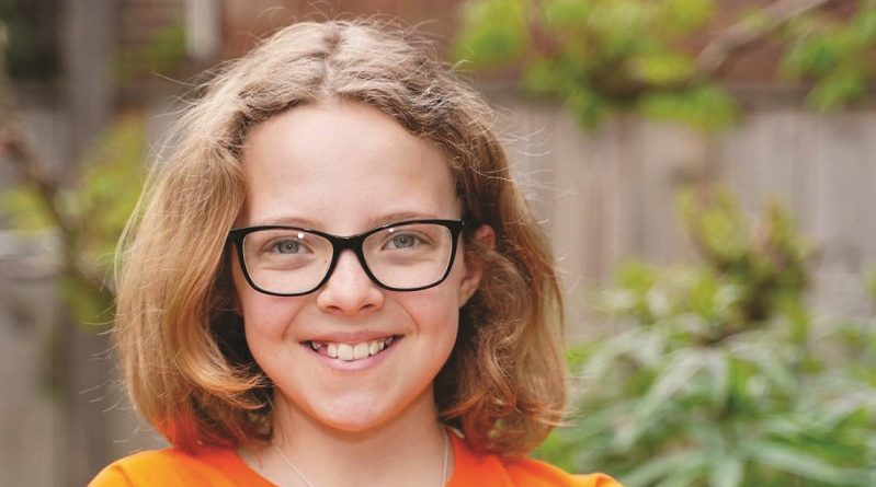 11-year-old Hannah Venters of Croydon takes on challenge to walk 25km to raise cash for kids with cancer