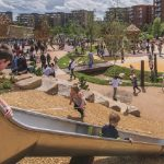 Kidbrooke families celebrate opening of new play space
