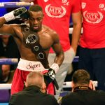Dan Azeez wins Southern Area title after impressive stoppage of Charlie Duffield at Greenwich's 02 Arena