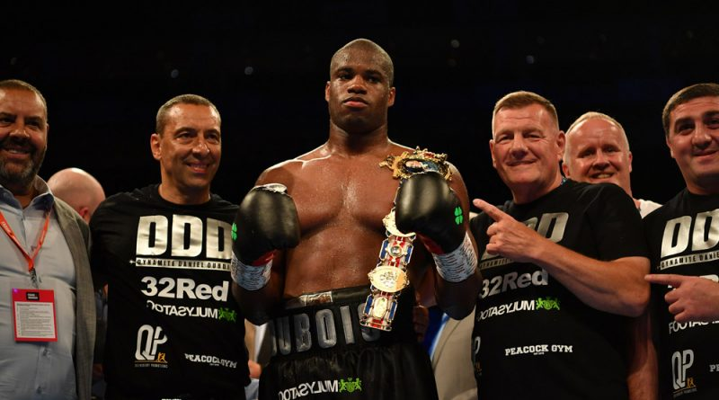 Daniel Dubois is a rare breed – a fighter who isn't worried about hyping himself