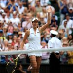 Britain's Johanna Konta beats two-time Wimbledon champion Petra Kvitova to reach quarter-finals