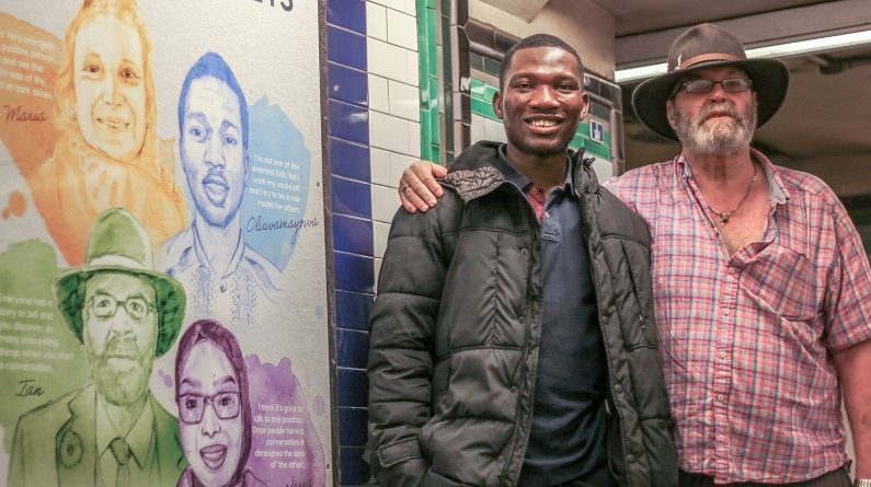 Oval Tube Station hosts Odyssey Stories exhibition telling the stories of local people