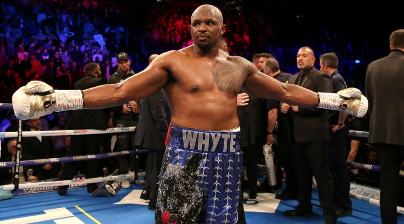 Dillian Whyte: I always find a way to adapt – but Oscar Rivas warrants respect