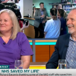 Richard Bacon hosts University Hospital Lewisham staff that saved his life on ITV Good Morning Britain
