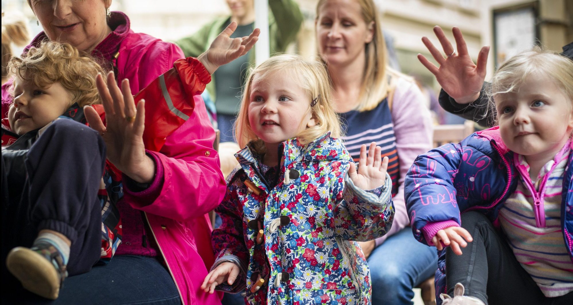 Free storytelling event for children in Surrey Quays – South