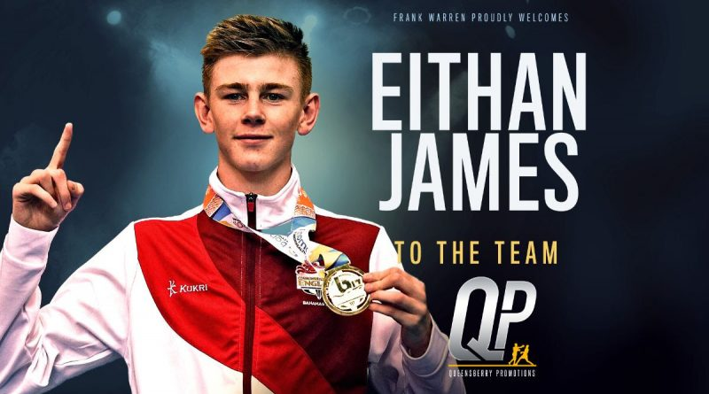 Bromley boxer Eithan James to turn pro aged just 18