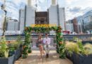 Battersea Power Station will be hosting a Garden Party on an historic Grade-II listed jetty located on the River Thames