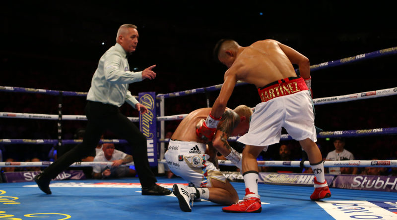 Charlie Edwards is still WBC world flyweight champion – as Martinez pays heavy price for late punch