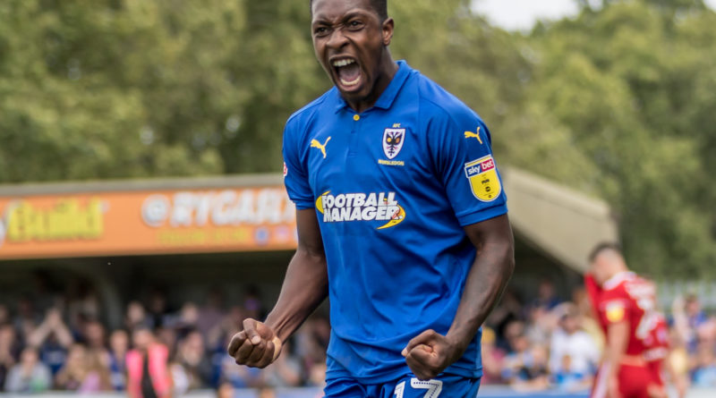 AFC Wimbledon 1 Accrington 1 – Frustrating afternoon for Dons as they are kept waiting for first League One win of season
