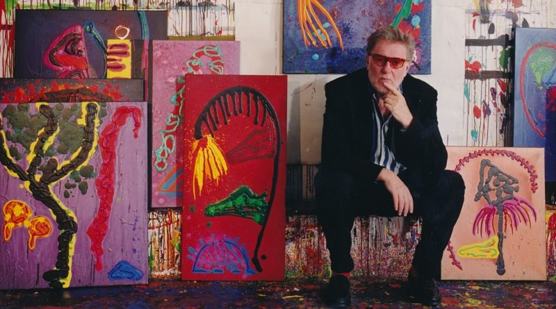 Paintings of John Hoyland on display at Tate Britain