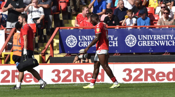 Charlton boss Lee Bowyer: Deji Oshilaja withdrawn as a precaution during win over Brentford