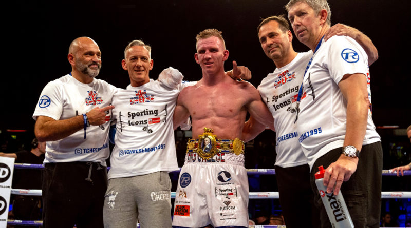 Ted Cheeseman to defend British title in Newcastle against Scott Fitzgerald