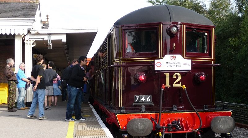 Enjoy a lazy September day travelling through lush suburbia on 1950s ex-British Rail 4TC coaches