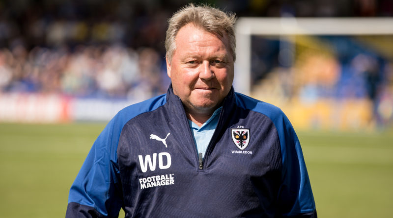 Dons boss Wally Downes delighted with first point of season – but wanted more