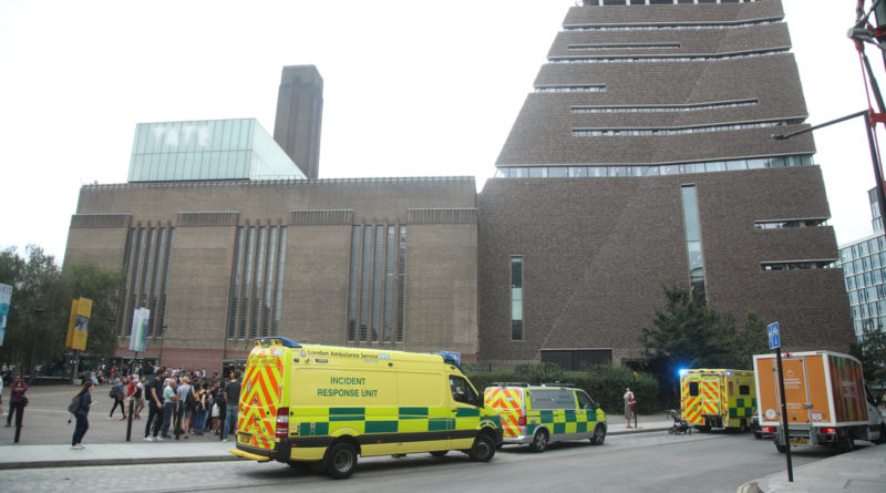 Teenager admits throwing child off viewing gallery at Tate Modern – because he wanted to be on TV