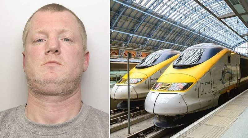 Brexit supporter halts trains at busy St Pancras rail station