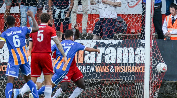 Welling United unlucky to be edged out by Wealdstone