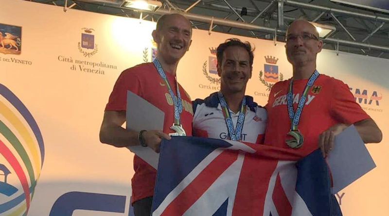 Herne Hill Harriers round-up: Minetti wins gold at European Masters Championship
