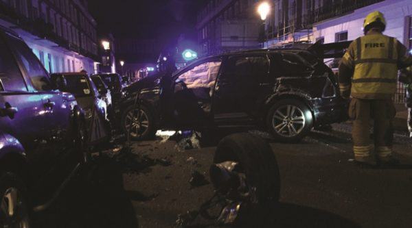 Chelsea residents astounded at cars destroyed by boy racer who was not arrested