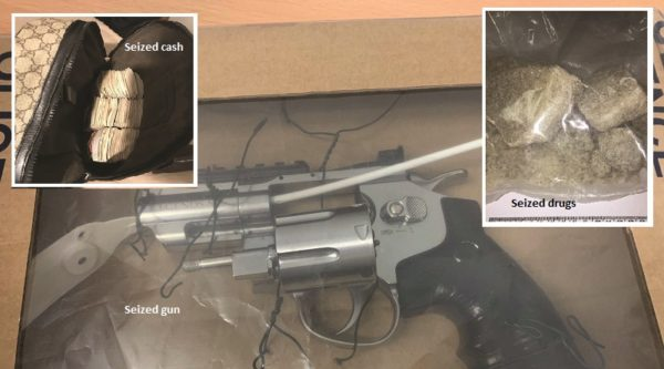 25 arrested in dawn raid across Lewisham, Wandsworth and Croydon, drugs, cash and gun seized