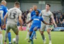 Dons caretaker boss wanted his side to time-waste late free-kick…but Terell Thomas headed home to seal maximum points