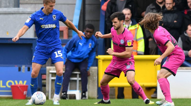 Marcus Forss: New long-term Brentford contract has helped me settle in quickly at AFC Wimbledon