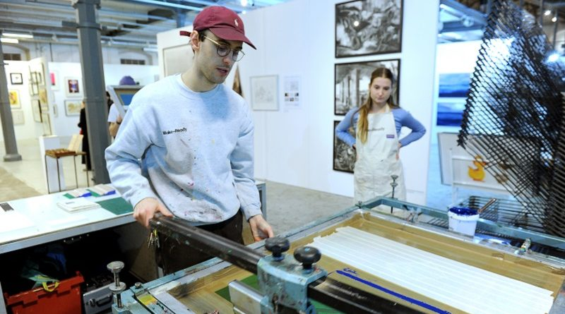 Woolwich Contemporary Print Fair dedicated to contemporary printmaking returns this November