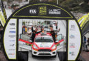 Bell proves his pace against the Junior WRC at Wales Rally GB