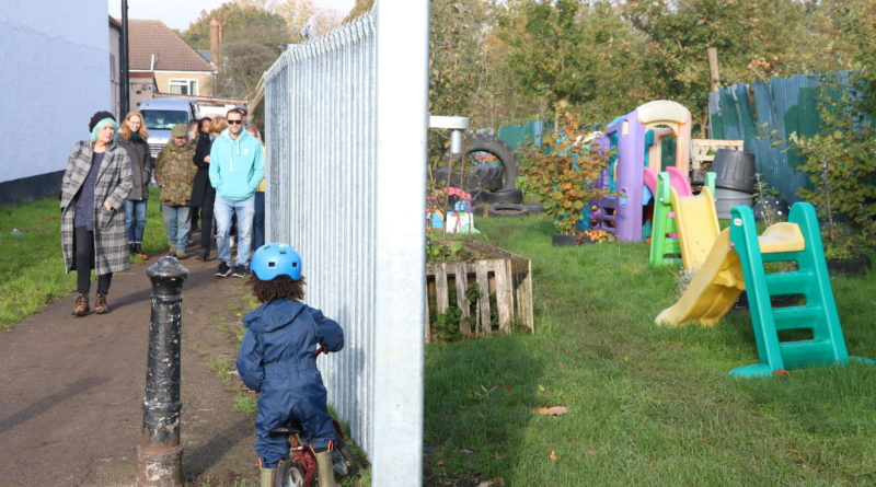 Cherished garden users take of-fence at barrier