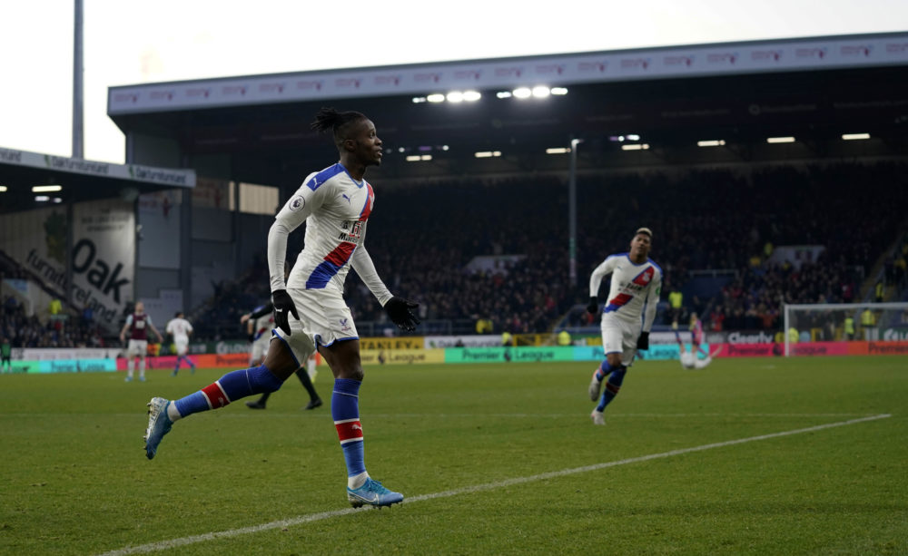 Burnley 0 Crystal Palace 2 – Zaha and Schlupp on target as Eagles record victory at Turf Moor