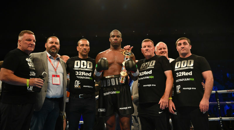 WBC bump up Daniel Dubois ranking – with Greenwich heavyweight highly-rated by three major governing bodies
