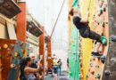 Free rock climbing courses for visually impaired people at The Westway Climbing Centre