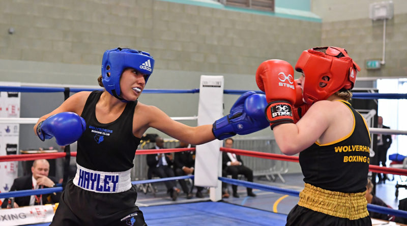 Teenage boxing talent Hayley Riddle wins national title – and has sights set on more success