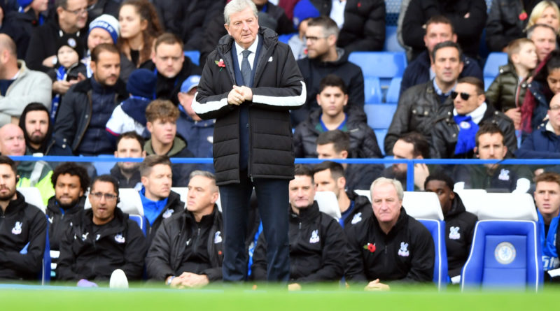 Palace boss Hodgson could not find fault with his players after Chelsea loss