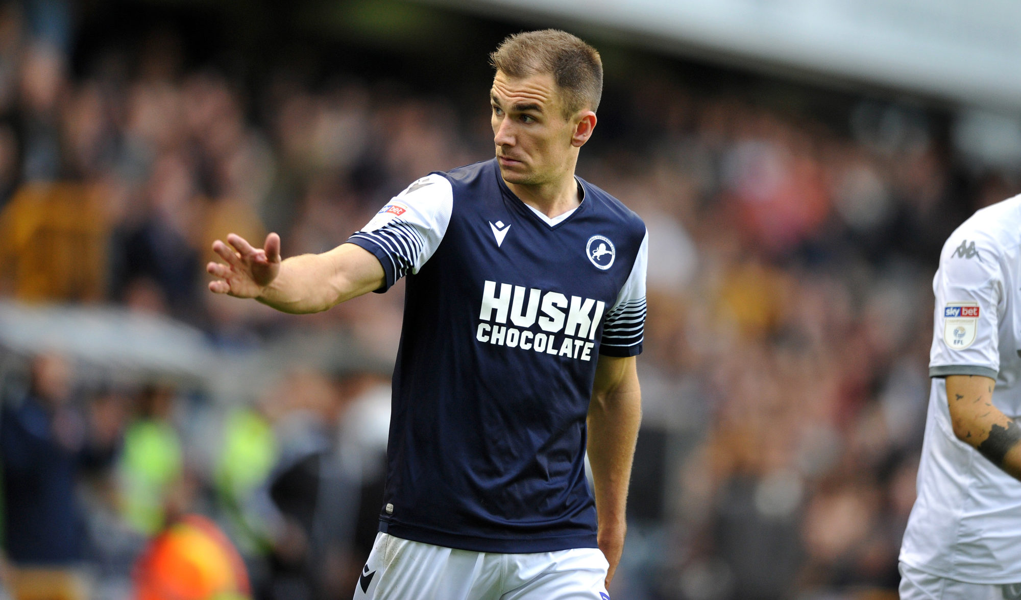 A Team Into millwall winger wallace reveals which charlton player helped