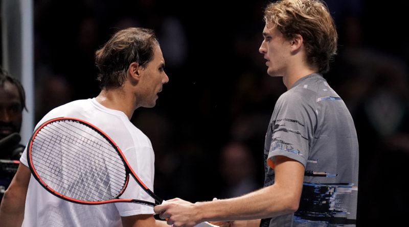 Early trouble for Federer and Nadal as ATP tennis finals get under way at the O2Arena