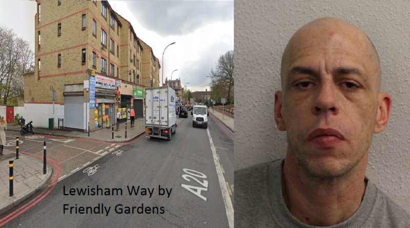 Man jailed for robbery and possession of a firearm in Lewisham