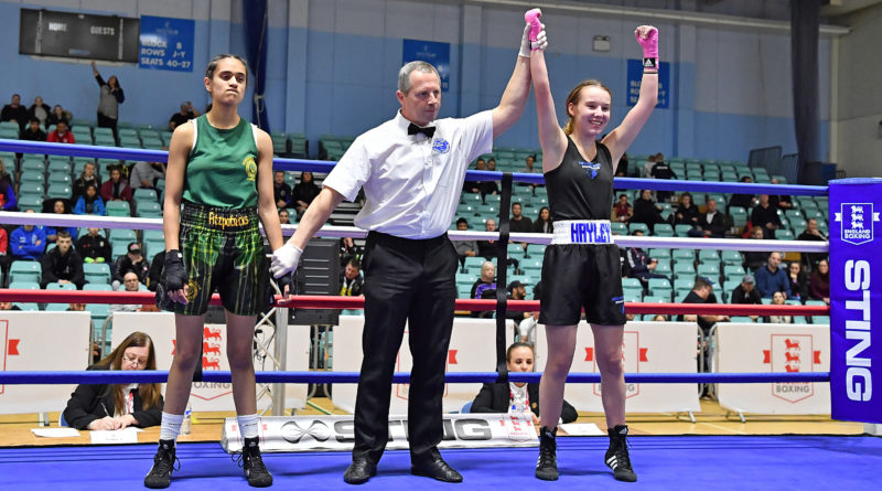 Belverdere Boxing Club's teenage talent wins Winter Box Cup