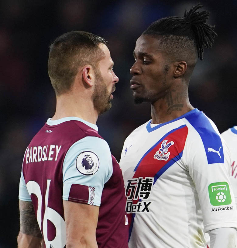 Crystal Palace players win their personal duels against Burnley as counter strategy works a treat at Turf Moor